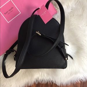 kate spade Bags - Kate Spade Small Leather Backpack